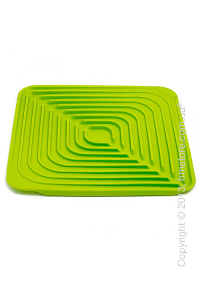Сушка для посуды резиновая Joseph Joseph Flume, Зеленая