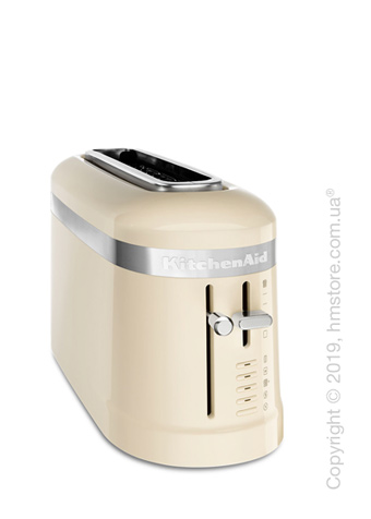 Тостер KitchenAid Design Long 1-Slot Toaster, Almond Cream