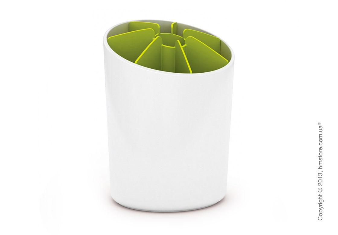 Подставка для посуды сегментированная Joseph Joseph Segment, Бело-зеленая