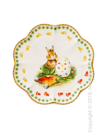 Тарелка десертная мелкая Villeroy & Boch коллекция Annual Easter Edition 2019, 16 см