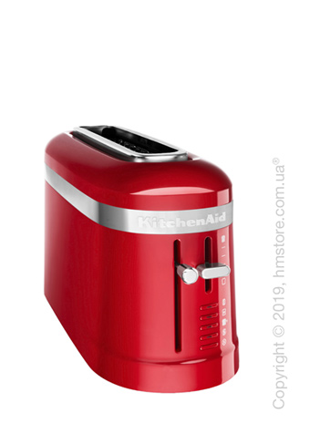 Тостер KitchenAid Design Long 1-Slot Toaster, Empire Red