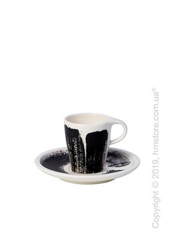 Чашка с блюдцем для эспрессо Villeroy & Boch коллекция Coffee Passion, 90 мл
