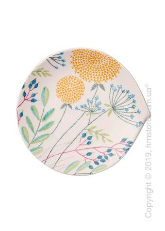 Тарелка десертная мелкая Villeroy & Boch коллекция Flow Couture, 23x22 см