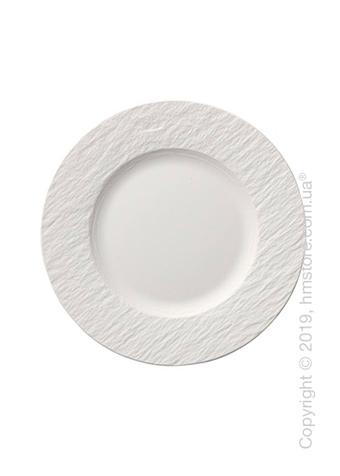 Тарелка десертная мелкая Villeroy & Boch коллекция Manufacture, 22 см, White