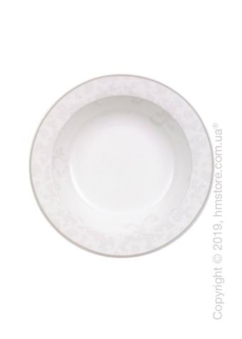 Тарелка столовая глубокая Villeroy & Boch коллекция Gray Pearl, 20 см