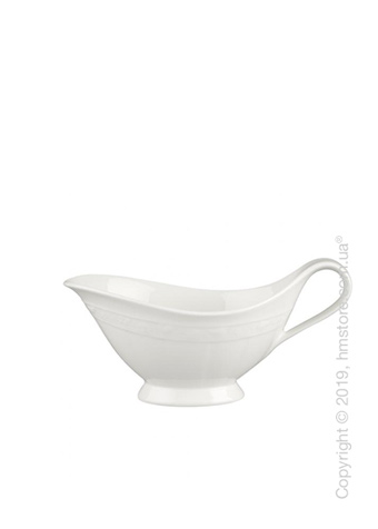 Соусница Villeroy & Boch коллекция White Pearl, 400 мл