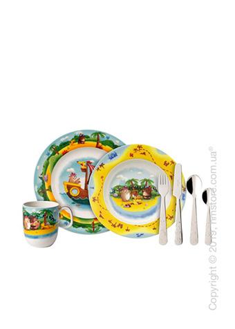 Набор детской посуды Villeroy & Boch коллекция Chewy's Treasure Hunt, 7 предметов
