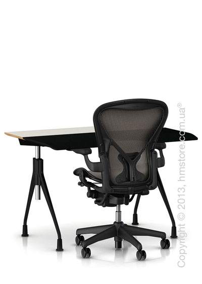 Комплект – стол Herman Miller Envelop Desk, кресло Aeron Сhair