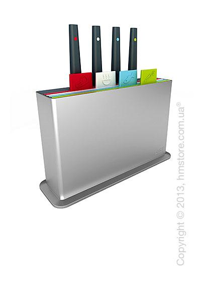 Набор досок и ножей на подставке Joseph Joseph Index Plus, 8 шт.