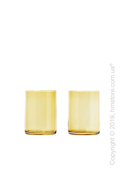 Набор стаканов Blomus коллекция Mera 220 мл на 2 персоны, Dull gold