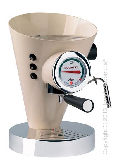 Кофеварка Bugatti DIVA, Cream