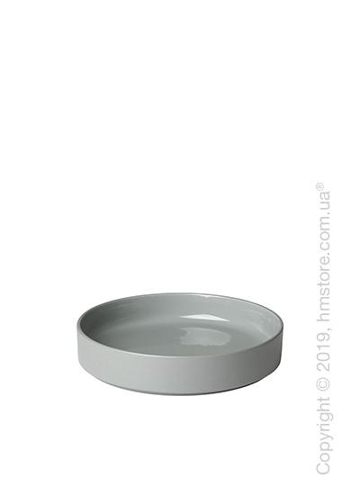 Тарелка столовая глубокая Blomus коллекция Mio 20 см, Mirage grey