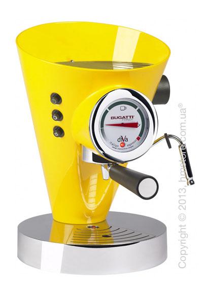 Кофеварка Bugatti DIVA, Yellow