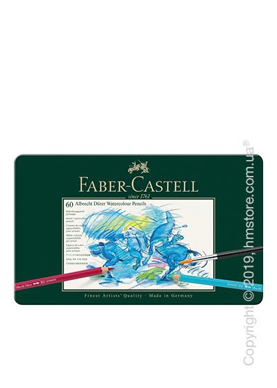 Набор акварельных карандашей Faber-Castell, коллекция Albrecht Durer, 60 предметов