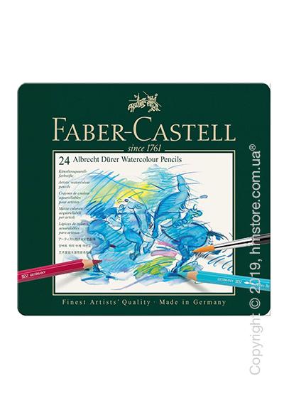 Набор акварельных карандашей Faber-Castell, коллекция Albrecht Durer, 24 предмета