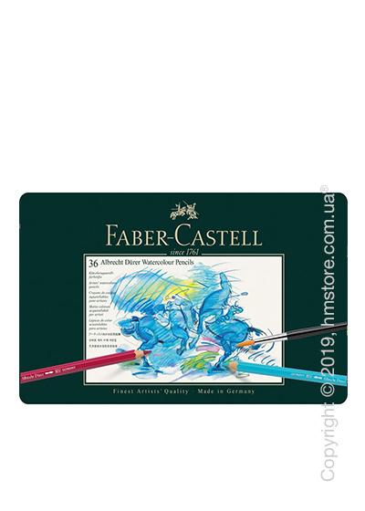 Набор акварельных карандашей Faber-Castell, коллекция Albrecht Durer, 36 предметов