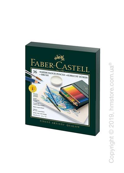 Набор акварельных карандашей в подарочной коробке Faber-Castell, коллекция Albrecht Durer, 36 предметов
