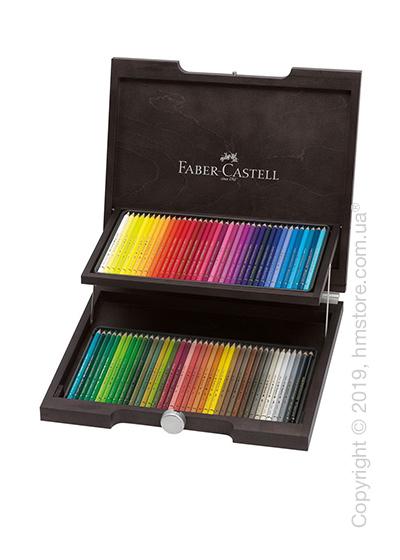 Набор полихромных карандашей Faber-Castell, коллекция Polychromos, 72 цвета