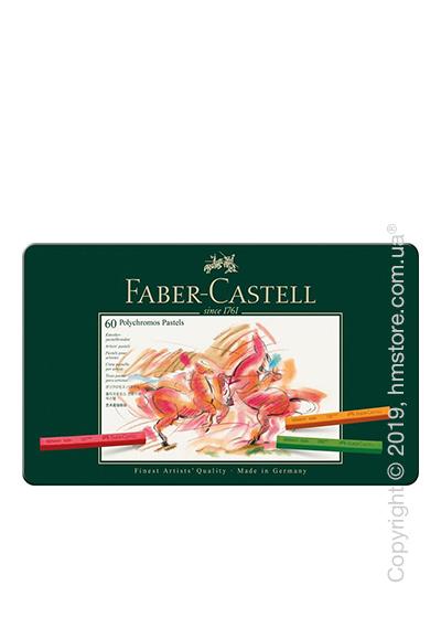 Набор пастельных карандашей Faber-Castell, коллекция Polychromos, 60 предметов