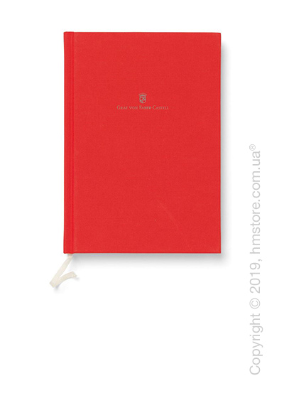 Записная книжка Graf von Faber-Castell A5, India Red