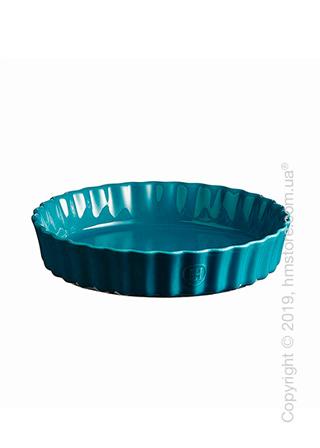 Форма для выпечки круглая 28 x 28 см Emile Henry Ovenware, Blue Calanque