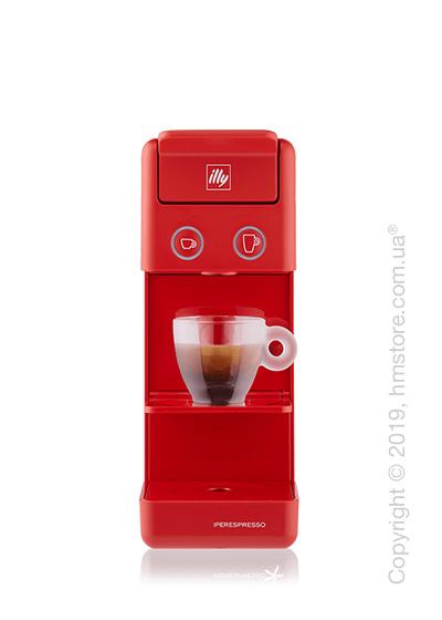 Кофемашина illy Y3.2 Espresso & Kaffee, Red