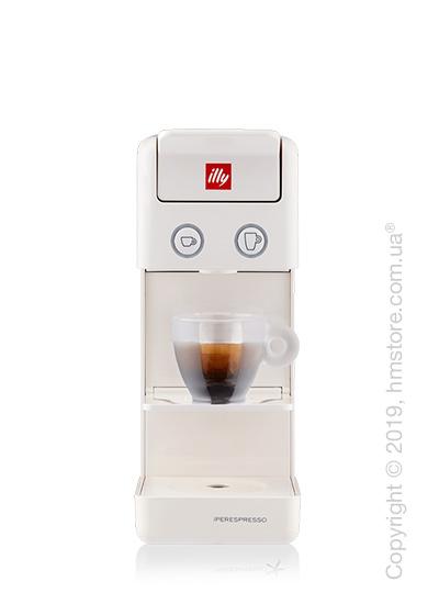 Кофемашина illy Y3.2 Espresso & Kaffee, White