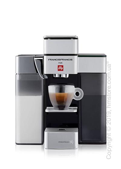 Кофемашина illy Y5 Milk Espresso & Kaffee, White