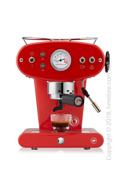 Кофемашина illy X1 Trio E.S.E. Pads Kaffeemaschine, Red