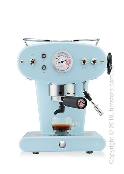 Кофемашина illy X1 Trio E.S.E. Pads Kaffeemaschine, Light Blue