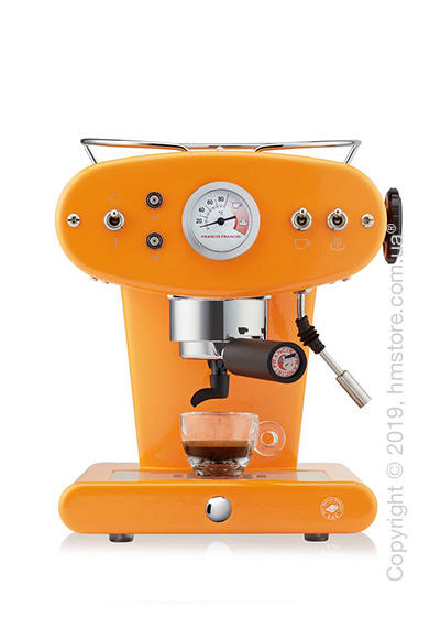 Кофемашина illy X1 Trio E.S.E. Pads Kaffeemaschine, Orange