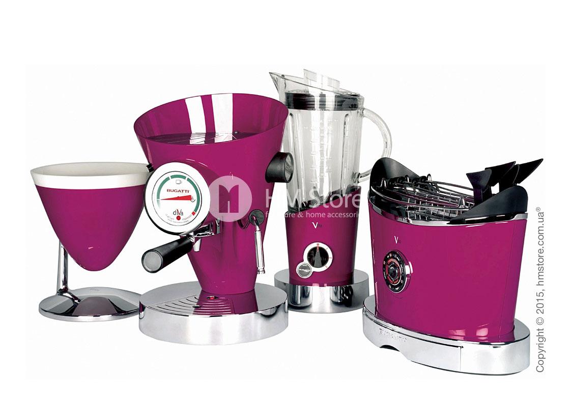 Кофеварка Bugatti DIVA, Lillac