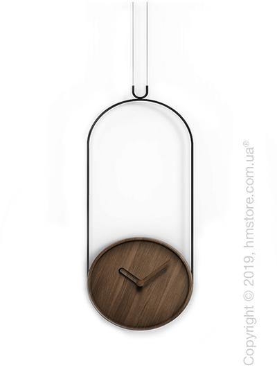 Часы настенные Nomon Colgante Wall Clock, Walnut