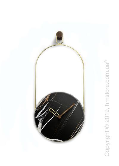 Часы настенные Nomon Eslabon Wall Clock, Sahara Noir