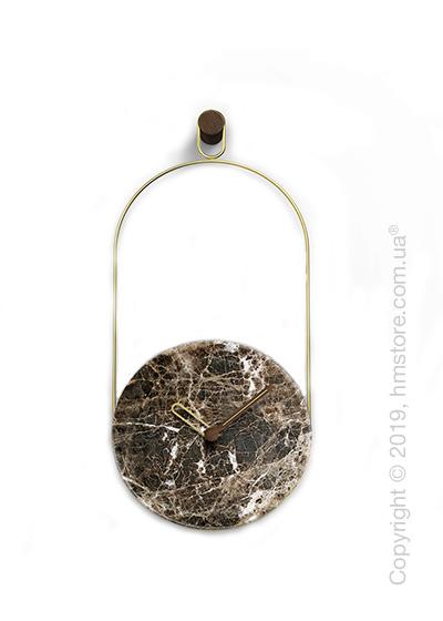 Часы настенные Nomon Eslabon Wall Clock, Emperador