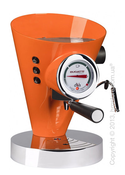 Кофеварка Bugatti DIVA, Orange