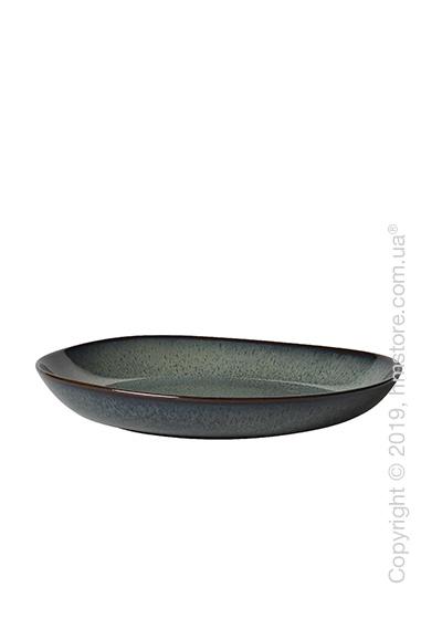 Тарелка столовая глубокая Villeroy & Boch коллекция Lave, 28x27 см, Grey