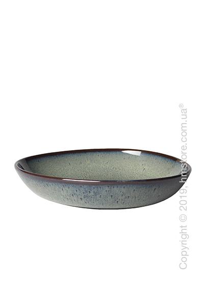 Тарелка столовая глубокая Villeroy & Boch коллекция Lave, 22x21 см, Grey