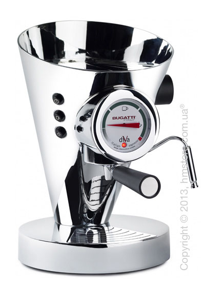 Кофеварка Bugatti DIVA, Chromed