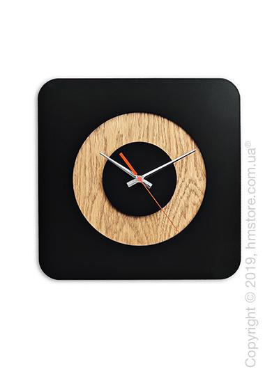 Часы настенные деревянные Moku Design Hiroshima