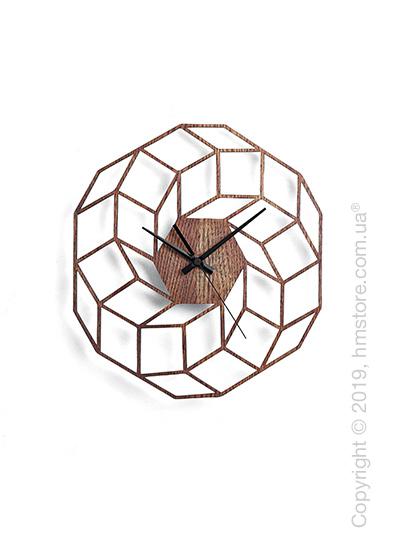 Часы настенные деревянные Moku Design Yoyogi