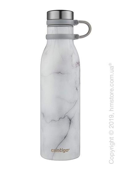 Термобутылка Contigo Matterhorne Couture, White Marble 590 мл