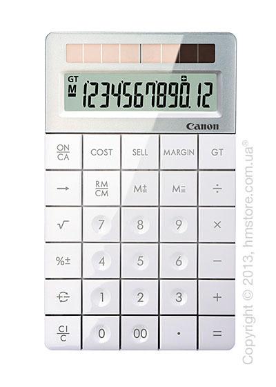 Калькулятор Canon X Mark 1, Белый