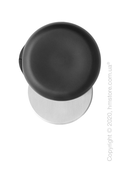Нож для пиццы Brabantia Pizza Cutter Plus Blade Guard Tasty Colours, Dark Grey