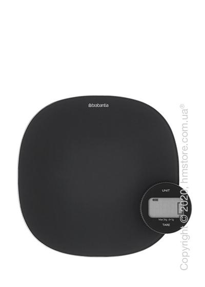 Весы кухонные Brabantia Digital Kitchen Scales Tasty+, Dark Grey