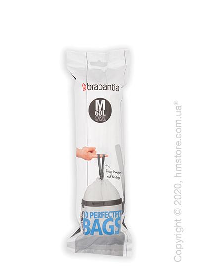 Набор пакетов для мусора Brabantia PerfectFit Bags Code M на 60 л, 10 штук