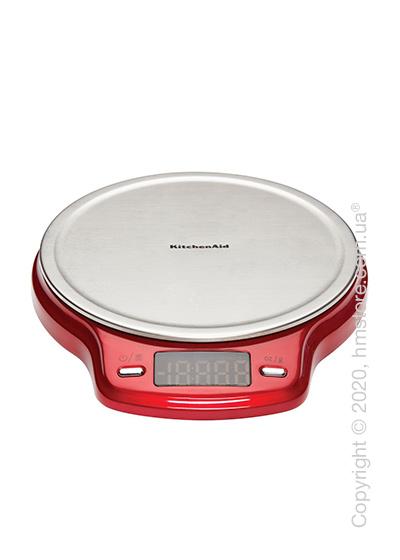 Весы электронные KitchenAid Digital Scale, Empire Red