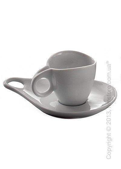 Набор кофейных чашек с блюдцами Bugatti Milla, Белый