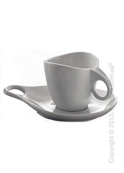 Набор чашек Cappucсino с блюдцами Bugatti Milla, Белый