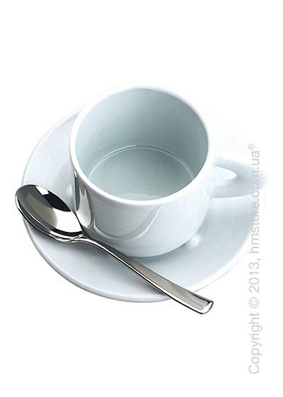 Чашка с блюдцем Bugatti Perla, Белый